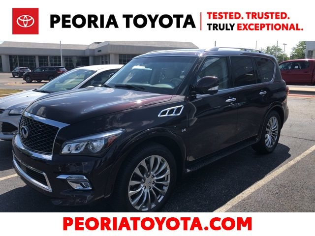 Pre-Owned 2015 INFINITI QX80 Base